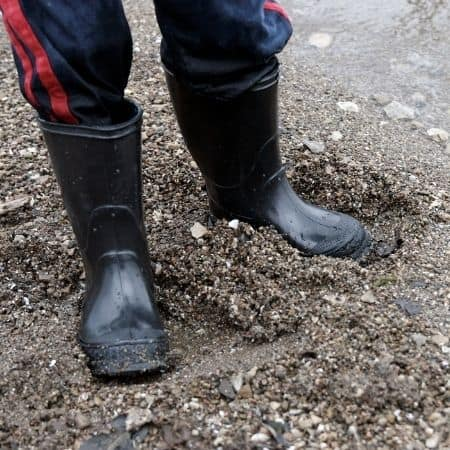 Standing on the Mud